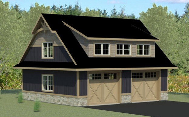 Shed Dormer Garage Plans Ukiah Playhouse Barn Sheds